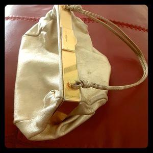 Miu Miu gold leather purse🔥